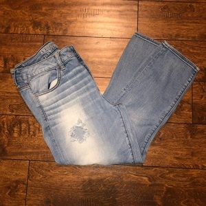 High rise American Eagle crop Jeggings! Size:12